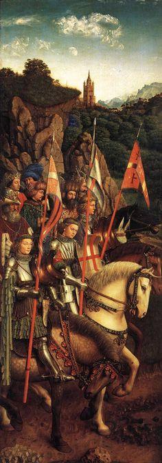 Hubert et Jan van Eyck - L'Adoration de l'Agneau mystique