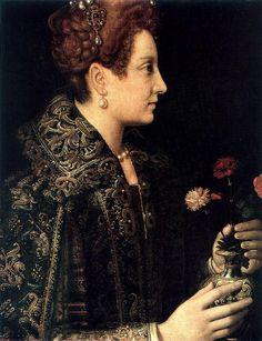 Retrato de dama, Sofonisba Anguisola, Hermitage