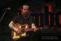 Sean Rowe at Jamboree jazz club of Barcelona.