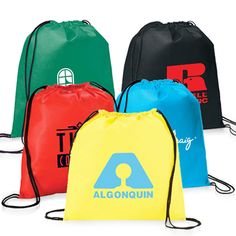 Buy Non-Woven Custom Drawstring Backpack Online