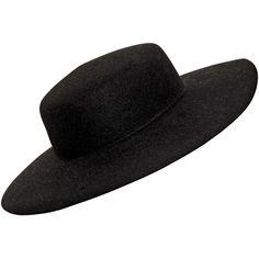VIVETTA Rabbit Fur Felt Wide Brim Hat (335 AUD) ❤ liked on Polyvore featuring accessories, hats, headwear, hair, hair accessories, rabbit felt hat, felt hat, wide brim felt hat, rabbit hat and wide brim hat