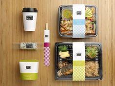 Brand packaging, food box packaging, sandwich packaging, salad packaging, f Sandwich Packaging, Salad Packaging, Food Box Packaging, Food Packaging Design, Brand Packaging, Coffee Packaging, Bottle Packaging, Food Design, Design Café