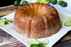 This key lime pound cake will take you to The Keys. It's a tender and moist pound cake. Brushing with a key lime glaze is perfect and brings the citrus flavor out. Key Lime Pound Cake, Lime Cake, Coconut Pound Cakes, Pound Cake Recipes, Key Lime Glaze, Key Lime Flavor, Delicious Desserts, Yummy Food, Tasty