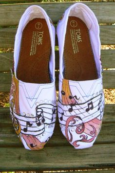 Toms w/music notes