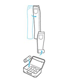 How to Pack a Suitcase: The Roll-Up Squeeze steps