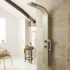 Shower in luxury with the Nesta thermostatic shower panel from Ultra