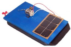 This tutorial by KidWind provides details for making a solar boat for a class or hobby project.  Build the best boat you can and race your friends.