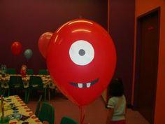 Yo Gabba Gabba Birthday Decorations ~ Be Different...Act Normal