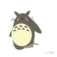 Unofficial Totoro GIFs Make The Internet A Better Place