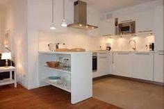Bildergebnis für kleine weiße offene küchen offen im wohnbereich