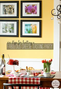 Six Steps for Hosting a Fabulous Cheese Tasting Party   Inspired by Charm
