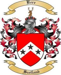 kerr coat of arms scotland - Google Search