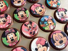 Chocolates de Minnie rosada
