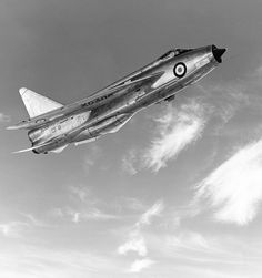 "The English Electric Lightning was a supersonic jet fighter aircraft of the Cold War era, noted for its superior speed. It was the only all-British Mach 2 fighter aircraft, and at the time, was the very first aircraft in the world capable of Supercruise. The Lightning was renowned for its capabilities as an interceptor; pilots commonly described it as ""being saddled to a skyrocket""."