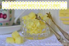 Recipe: Lemon Infused Sugar Cubes - Worthing Court