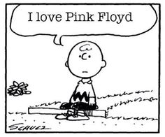 Even Charlie Brown loves Pink Floyd!