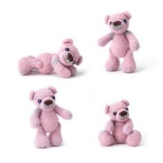 Teddy bear to crochet    http://www.sweetlivingmagazine.co.nz/sweet-living-issue-4/#
