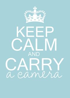 o yes! This is so me.. I litereally wont go anywhere without at least one of my cameras!