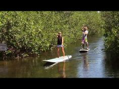 Stand-up Paddle-boarding in the Florida Keys - SUP Paddle Surfing
