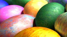 Colored Easter Eggs - http://www.fullhdwpp.com/holidays/easter/colored-easter-eggs/