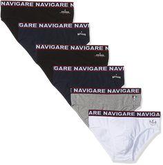 Superisparmio's Post 6 Paia Slip  Navigare Intimo Uomo 6 paia di slip in Jersey elasticizzato  A solo 20.40   http://amzn.to/2BJxbCv