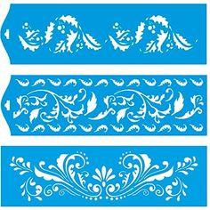 28cm x 8cm Pochoir (Jeu de 3) Réutilisable en Plastique Transparent Souple Trace Gabarit - Traçage Illustration Conception Murs Toile Tissu Meubles Décoration Aérographe Airbrush Litoarte http://www.amazon.fr/dp/B00PME9A6O/ref=cm_sw_r_pi_dp_8VKqwb05FNRRH