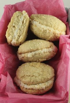 Coconut Whoopie Pies with Coconut Cream Filling