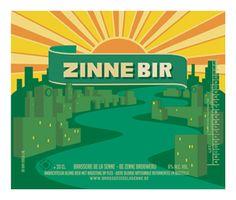 Zinnebir de la Brasserie de la Senne à Bruxelles