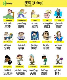 illnesses in chinese