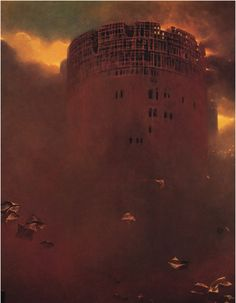 Zdzisław Beksiński (1929-2005) was a renowned Polish painter, photographer, and sculptor. Beksiński executed his paintings and drawings either in what he called a 'Baroque' or a 'Gothic' manner