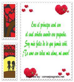 textos bonitos de amor para mi novia,buscar bonitas palabras de amor para mi enamorada: http://www.consejosgratis.net/fantasticas-frases-de-amor-para-alguien-especial/