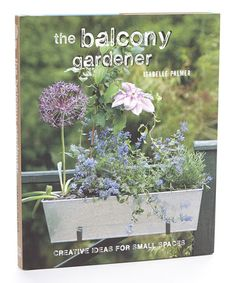 Look at this #zulilyfind! The Balcony Gardener Hardcover #zulilyfinds
