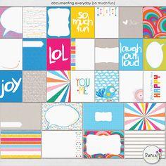 Life in Color - Bundle :: Full & Mini Kits :: Memory Scraps