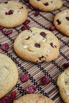 Cranberry Orange and White Chocolate Cookies