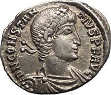 533 best numismatica romana images on pinterest artemis coins and constantius ii 355ad arles silver siliqua authentic ancient roman coin i53401 fandeluxe Choice Image