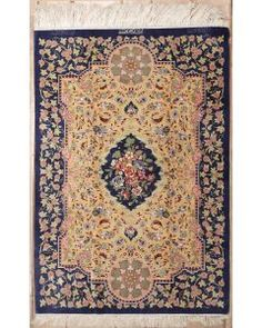 New Contemporary Persian Qum Area Rug 37678 - Area Rug