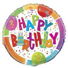 Birthday Jamboree Foil Balloon 1/pkt