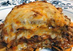 Meaty Eggplant Lasagna :http://recipeyummy.com/meaty-eggplant-lasagna/