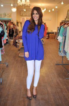 Dottie Couture Boutique - Fleece Lined Leggings- White, $9.00 (http://www.dottiecouture.com/fleece-lined-leggings-white/)
