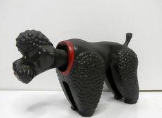 VTG Nodder Bobblehead Poodle made in Germany 1950's 60's era