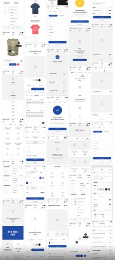 Big UI and Wireframe Kit for mobile projects. 290+ layouts in 8 categories helps speed up your UI/UX workflow. Each layouts are carefully crafted and based on modern design trends.