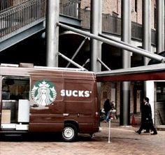 STARSUCKS: Eric Zomer @zomerinhuis  Ooops..!!. Goed voorbeeld van mobile advertising. Hoewel goed..:-) pic.twitter.com/ekTZ5duR