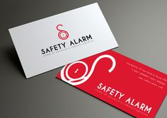 SAFETY ALARM - Logo & Branding proposals by Nicola Vianello, via Behance