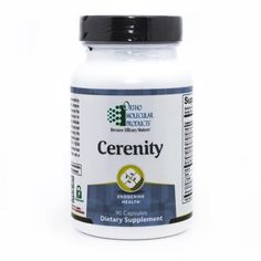 Cerenity  Promotes State of Calmness,  Enhances Serotonin and GABA production in the Brain, Supports Neurotransmitter Systems & Helps Sleeplessness