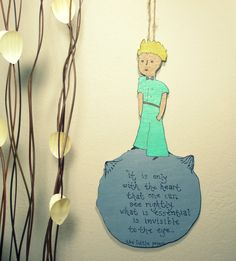 The Little Prince Le Petit Prince  Handmade & by 2good2beWood