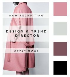 With over 700 stores in 37 countries worldwide, our Swiss-based client is looking for their next Design & Trend Director to join their HQ and generate various collections. o to our website and apply today. www.gm-talentmanagement.com #fashionjobs #luxury #careergoals #goals #jobs #recruitment #instafashion #fashioncareer #sendyourcv #moodboard #fashiongram #career