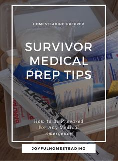 Some emergency medical preparedness tips will provide you peace of mind, even if you never have to use them.
