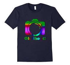 Photography T-shirt| Oh Shoot Photography Tee Shirt #photography #gift #tshirt #tee #photographer