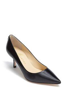 Ivanka Trump 'Indico' Pump available at #Nordstrom  The perfect black heel!!!