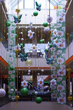 Оформление торговых центров — BigDecor #mall #decor #decorations